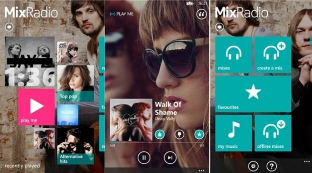Nokia MixRadio Windows Phone