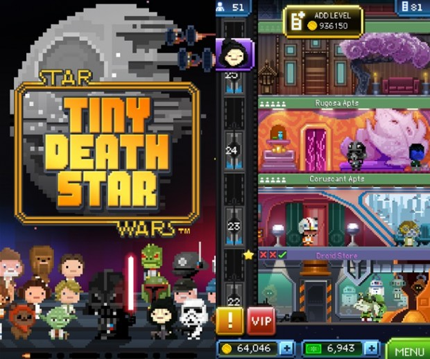 Star Wars The Death Stars Windows phone