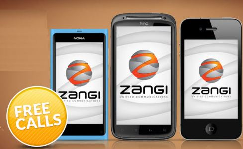 Zangi Windows Phone app