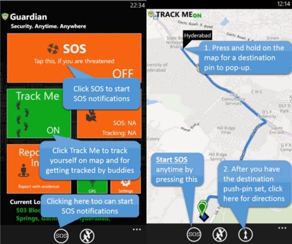 Microsoft Guardian Windows Phone