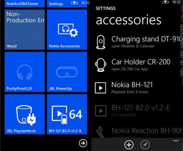 Nokia Accessories App Lumia