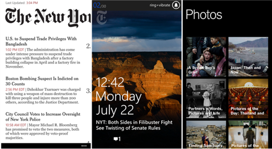The New York Times Windows Phone