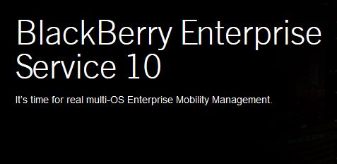 Blackberry Enterprise Service