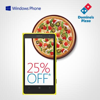 Dominos Pizza Offer Windows