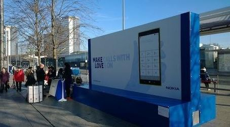 Nokia Temperature Sensitive Ads