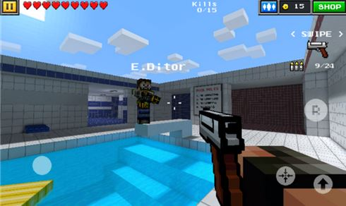 Pixel Gun 3D (Minecraft style) Game Now Available In Windows Phone Store - MSPoweruser