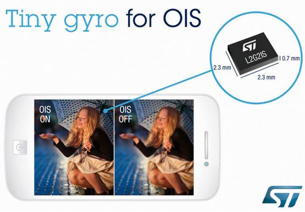 ST Nokia OIS Gyro