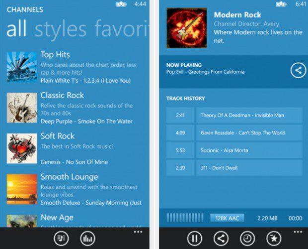 Sky FM Windows Phone