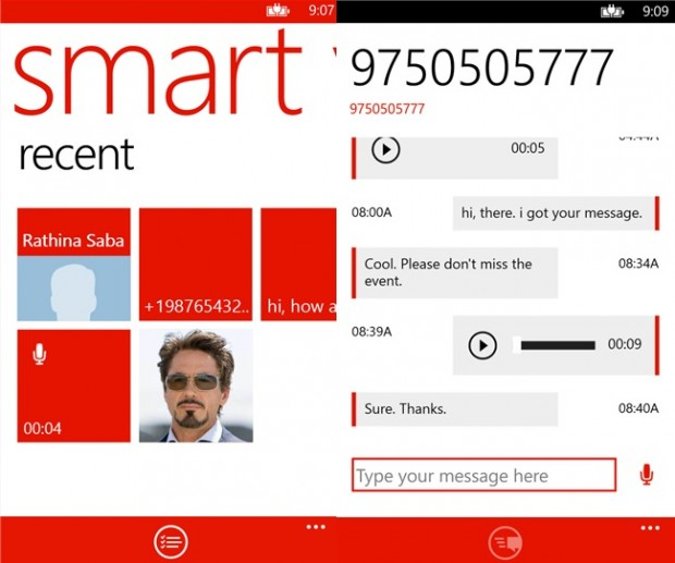 Smartvoicemail Windows Phone