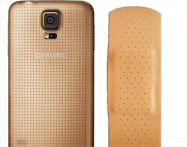 Samsung Galaxy S5 Band-aid