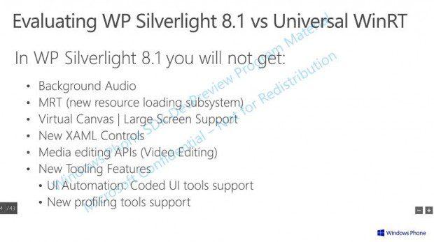 WIndows Phone 8.1 new APIs