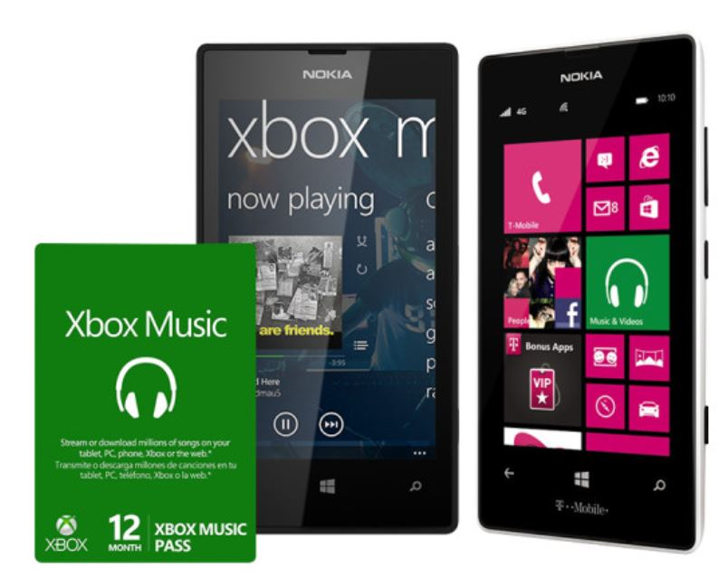 Xbox Music Nokia Lumia 520 bundle