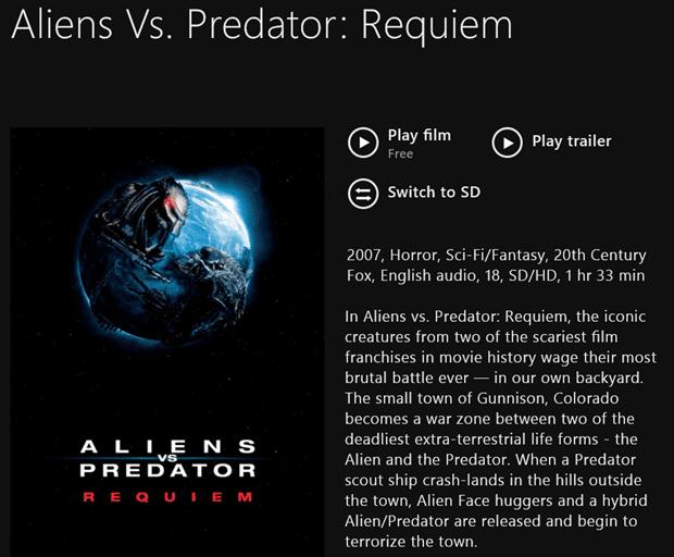 Predator vs watch requiem alien Aliens vs