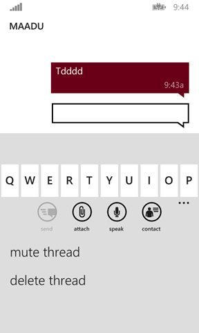 mute thread