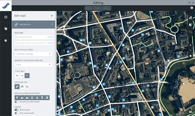 Tip: Add New Location Info Or Edit Wrong Locations With HERE ... Map Editing on map graphics, map language, map packaging,