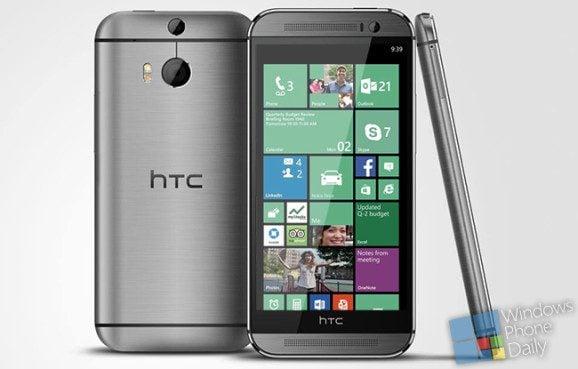 HTC One M8 Windows Phone