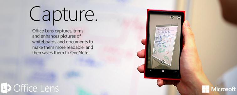 Microsoft Office Lens App