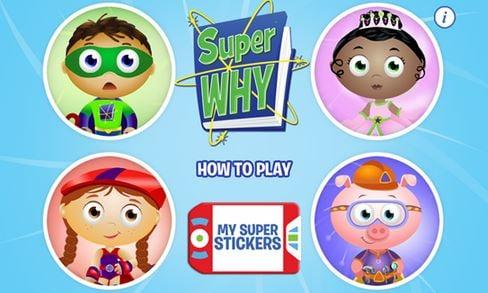 SuperWhy PBS Windows Phone app