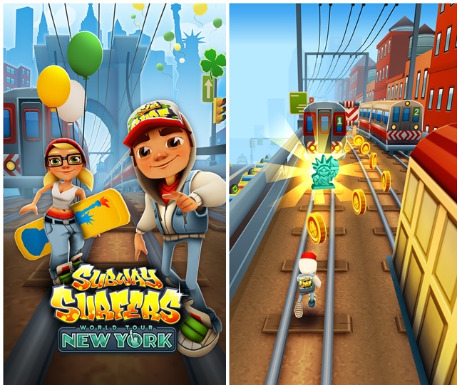 Subway Surfers Updated With New York City World Tour In