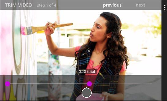 Movie Moments Windows Phone