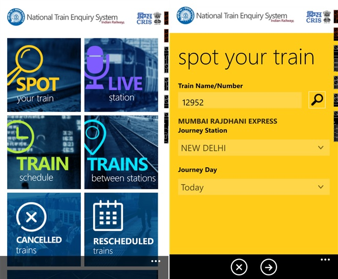 NTES Windows Phone app