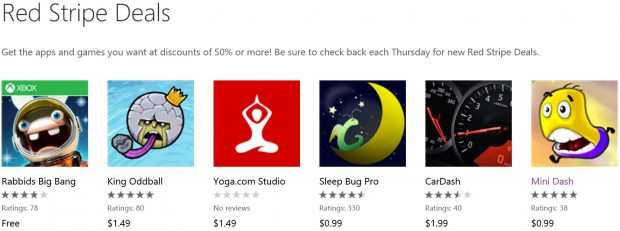 Red Stripe Deals May 4th Week