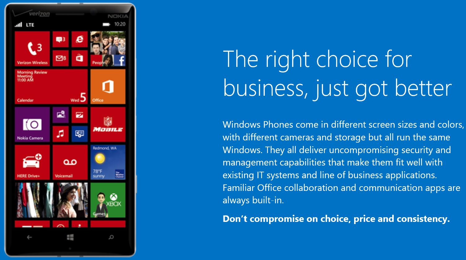 Windows Phone 8.1 Enterprise