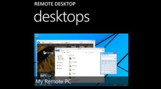 remote desktop header
