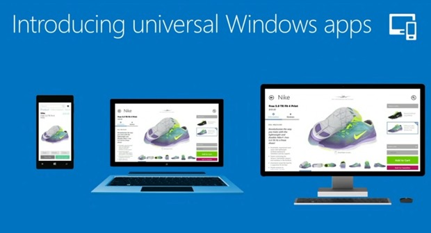 universal windows apps