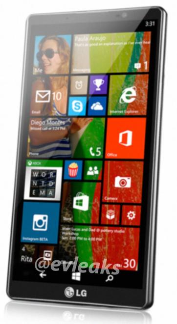 LG Uni8 Windows Phone