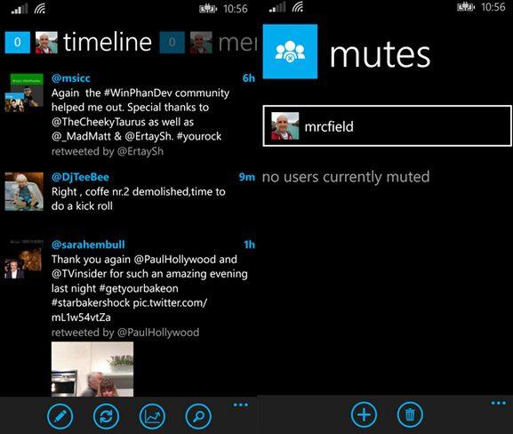 Mehdoh Windows Phone app
