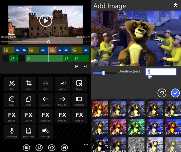 Movie Maker 8.1 Windows Phone