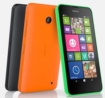 Nokia Lumia 630 Windows Phone UK