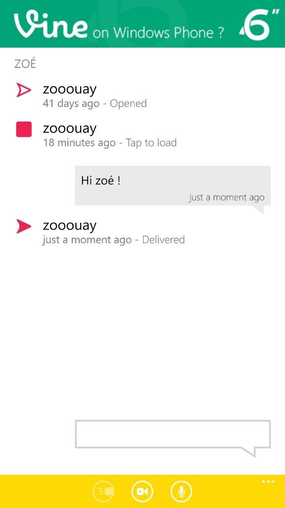 Snapchat 6snap