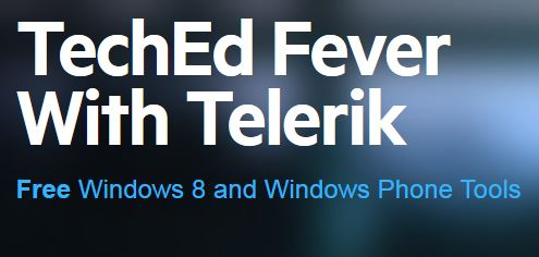 Telerik Microsoft Teched