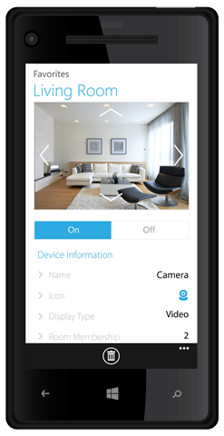 Windows Phone - Living Room
