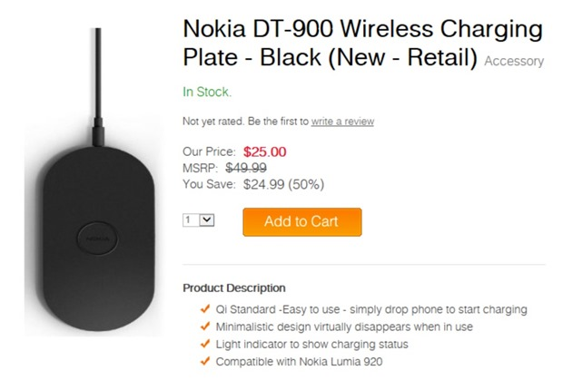 nokia qi charger