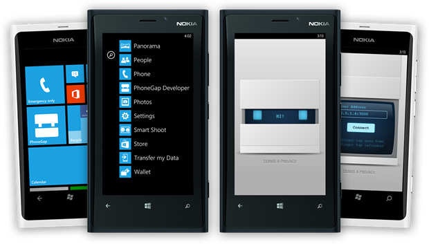 phonegap-app-developer-wp8
