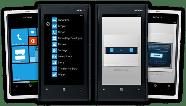 phonegap-app-developer-wp8