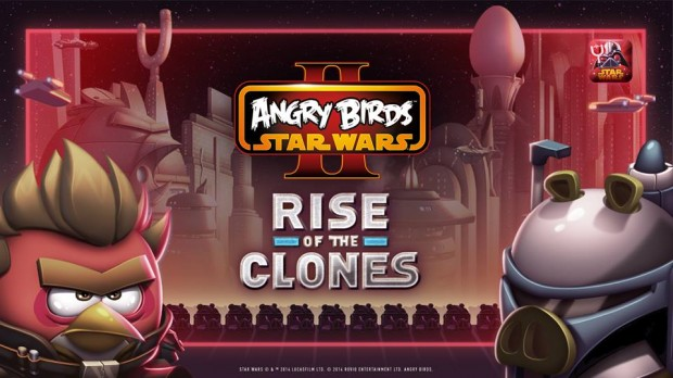 Angry Birds Star Wars 2 Rise of the clones
