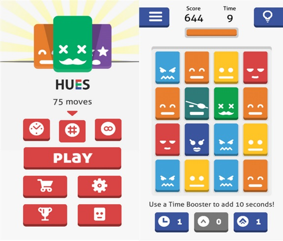 Hues Windows Phone game
