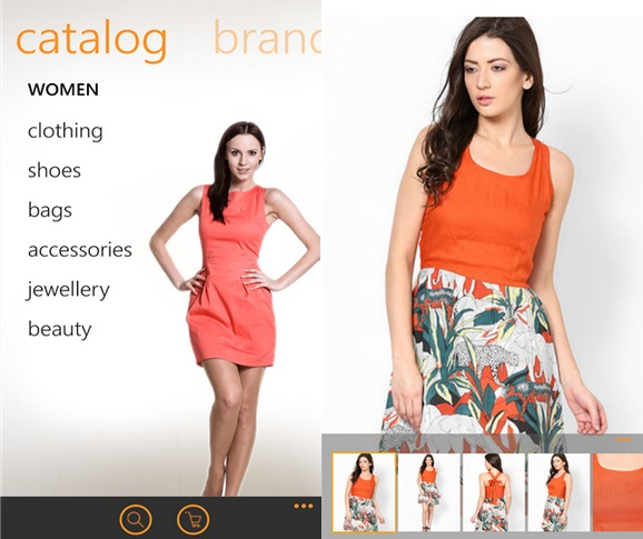 Jabong Windows Phone app
