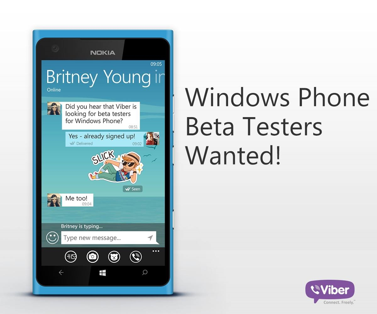 Viber Now Accepting Beta Testers For Its Upcoming Windows Phone App 1