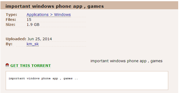 windows phone cracked app store