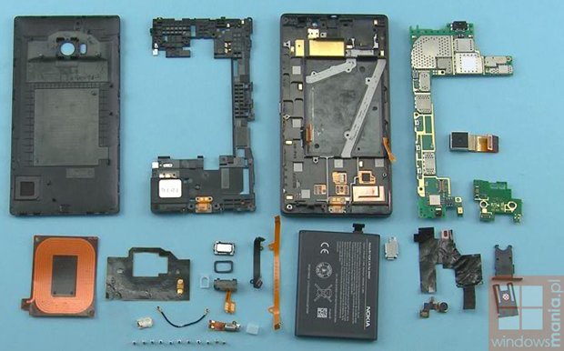 nokia lumia 930 tear down 1