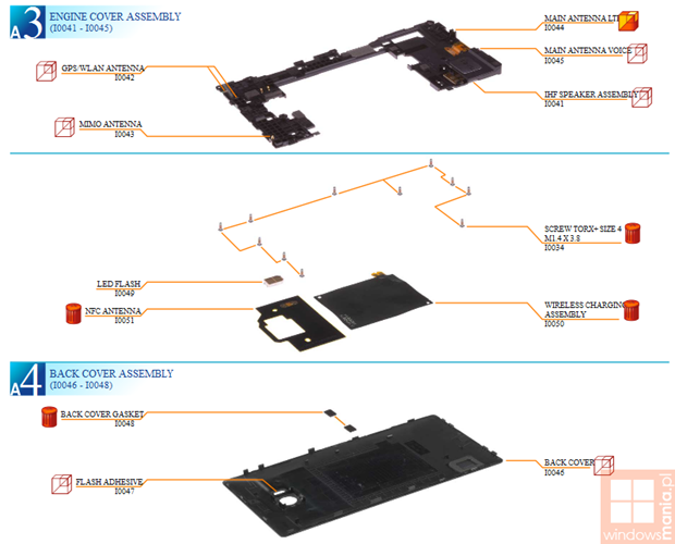 nokia lumia 930 tear down 4