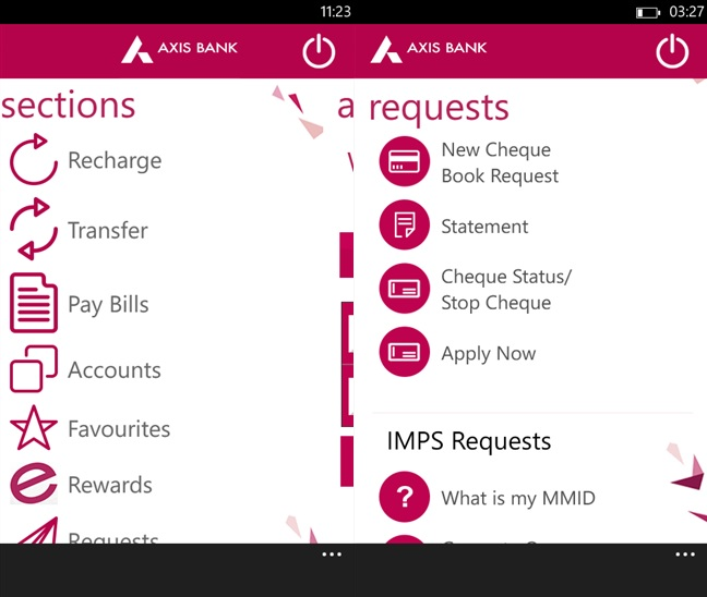 How to add forex card in axis bank app