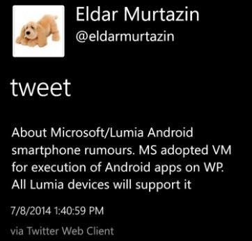Microsoft Android Lumia