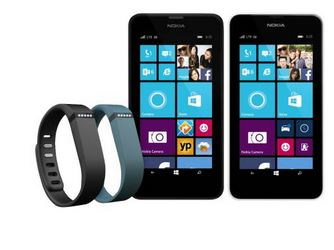 Nokia Lumia 635 FitBit Flex Bundle