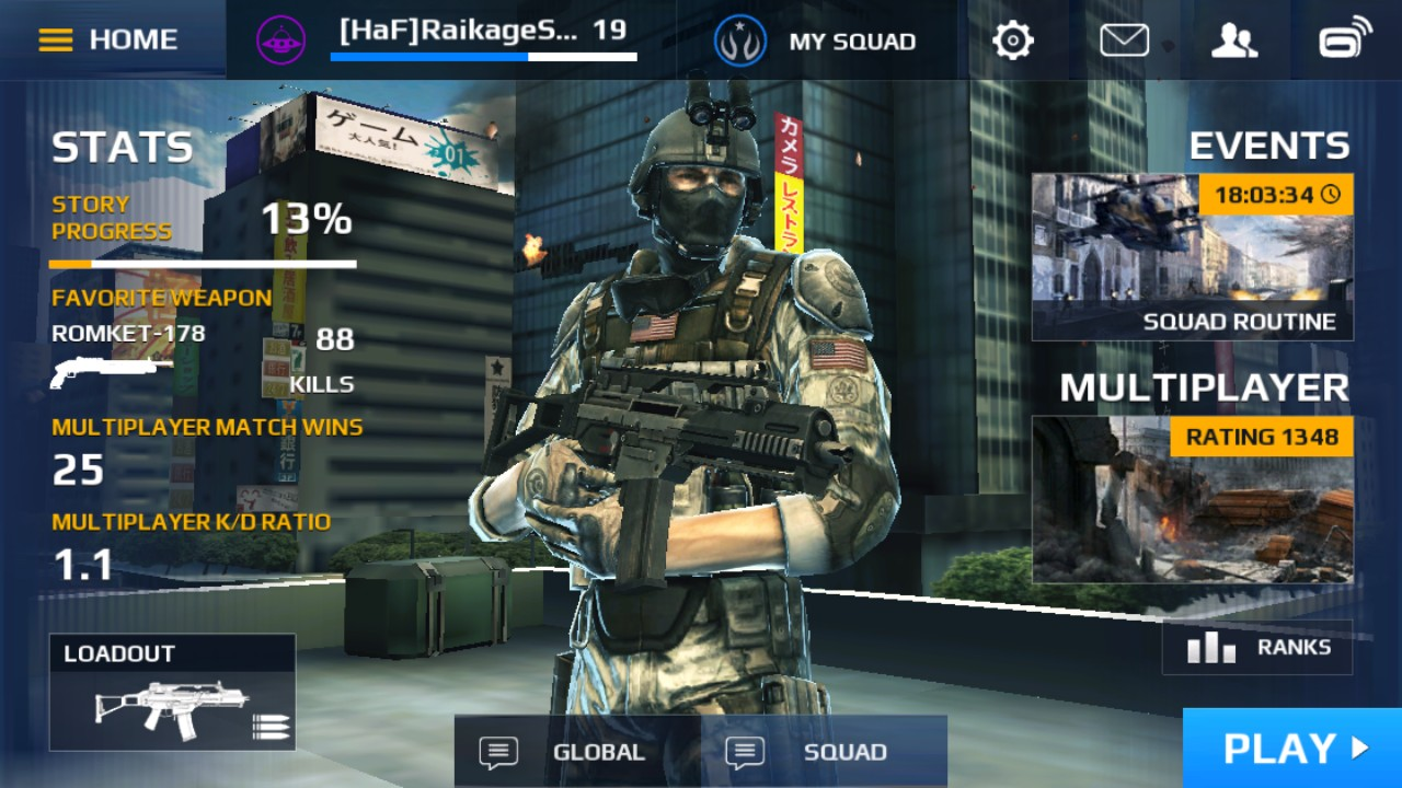 Modern Classroom Game : Review modern combat for windows and phone